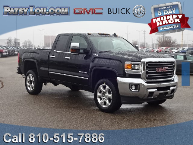 new 2017 gmc sierra 2500hd slt double cab in flint 7 2050. Black Bedroom Furniture Sets. Home Design Ideas