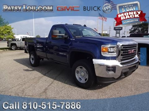 new 2017 gmc sierra 2500hd base 4x4 double cab in flint 17 1339 patsy lou automotive. Black Bedroom Furniture Sets. Home Design Ideas